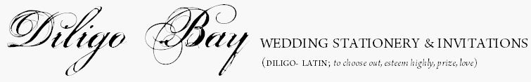 diligo bay wedding invitations